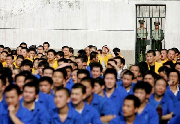 2012년 10월 25일 북경 교도소의 모습. | AFP/Getty Images