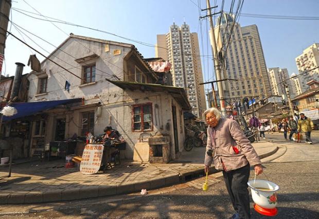 현재중국이직면한최대실패는하층민에서중산층으로전환할수없는계층구조이다. | GettyImages