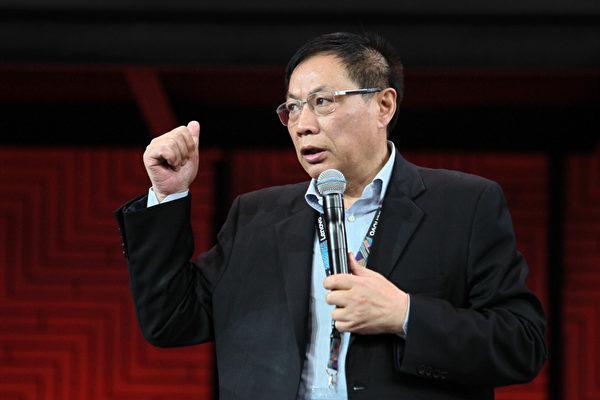 중국의 파워 블로거이자 대표적 부동산 업체 화위안(華遠) 부동산의 런즈창(任志强) 회장. | 에포크타임스 DB