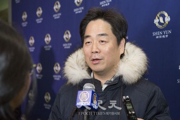 """장동일 그레이스 오페라단 단장 """"션윈, 새로운 문화예술의 미래 열어"""""""