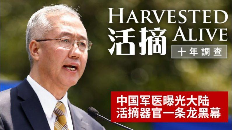 다큐멘터리 영화 '강제장기적출, 10년간의 조사'의 시사회가 11월 26일 뉴욕 타이완(台灣) 회관에서 열렸다.   동영상 캡처