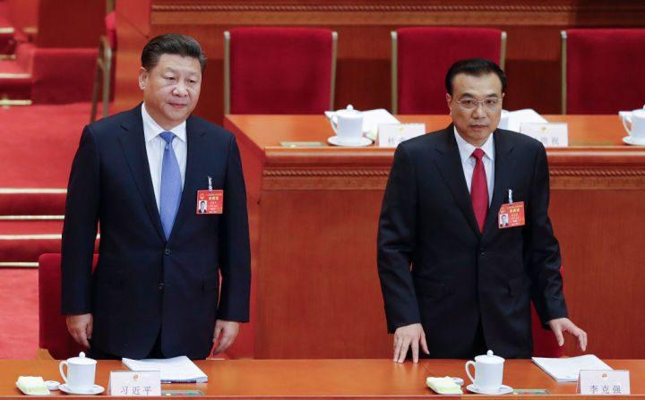 시진핑 중국 국가주석과 리커창 중국 국무원 총리   Getty Images