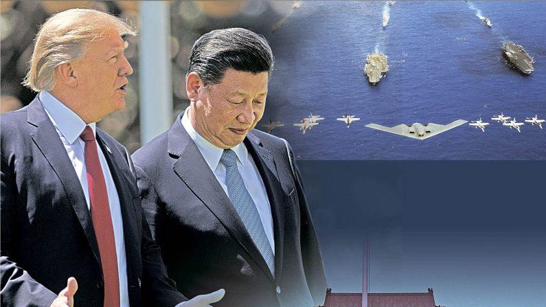 장쩌민파는 북한을 이용해 시진핑과 전 세계를 위협하고 있다. 시진핑 당국은 장쩌민파  특수요원인 마샤오훙을 체포했다. | CG=The Epoch Times