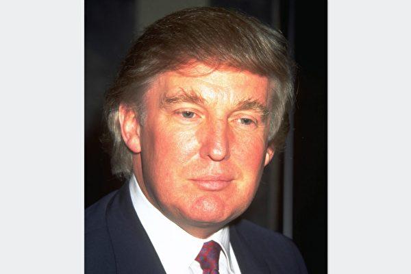 1990년대 당시 트럼프의 모습.   Getty Image
