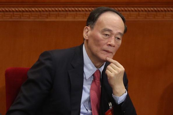 왕치산 중국 국가 부주석 | Getty Images