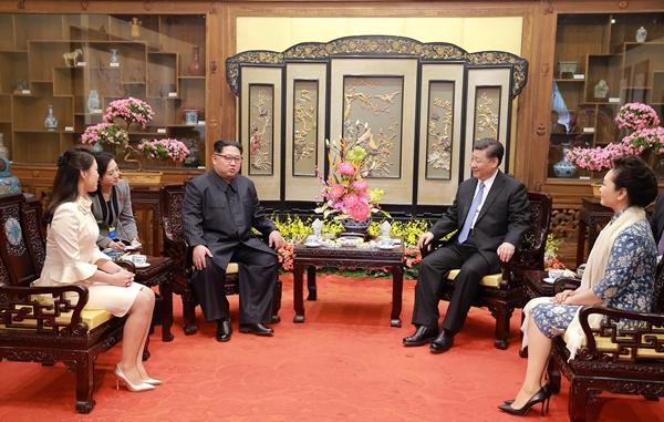 김정은 위원장이 비밀리에 중국을 전격 방문했다. | Getty Images