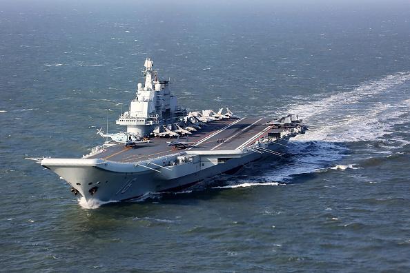 중국의 첫 항공모함 랴오닝호 | Getty Images
