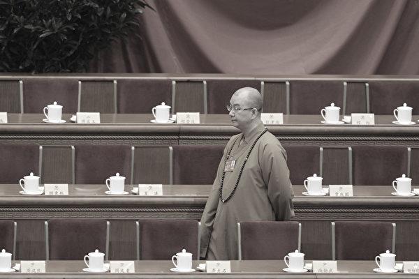 중국 당국은 지난 15일 중국 불교협회장이며 베이징 룽취안(龍泉)사 주지인 스쉐청(釋學誠)의 해임을 공식 발표했다. | WANG ZHAO/AFP/Getty Images