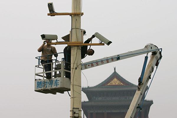 중국공산당의 감시는 갈수록 삼엄해지고, 감시 수단도 갈수록 다양하다. 빅데이터, 톈왕 프로젝트, 안면인식 등이 모두 '안전 유지'에 이용된다. | Guang Niu/Getty Images
