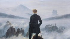 프리드리히 그림 '운무를 바라보는 방랑자'…숭고함에 관한 사색