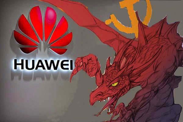 화웨이는 중국 공산당이 대내적으로는 민중을 감시하고 대외적으로는 간첩활동을 하는 정보기관이라는 지적을 받고 있다.   NTD 합성