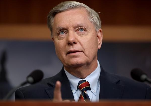 사우스캐롤라이나주의 린지 그레이엄(Lindsey Graham) 공화당 상원의원은 '그린 뉴딜' 정책을 '공포정치(Reign Of Terror) 계획'이라 불렀다. | Getty Images