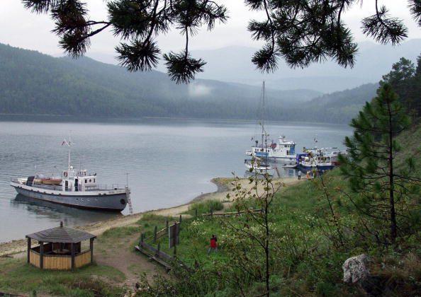 2003년 8월 20일 촬영한 바이칼 호수의 모습  | Grigory Sobchenko/AFP/Getty Images