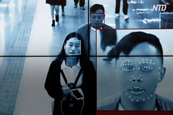 중국 선전의 얼굴인식회사 센스넷츠의 데이터 유출 사건은 누구나 개인정보에 접근이 가능했다. 중국 공산당은 모니터에 표시된대로 대중의 얼굴 인식 시스템을 모니터한다. | NTD 영상 캡처