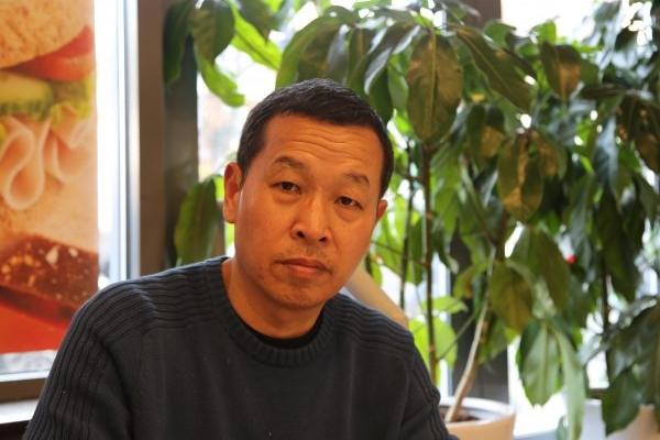 전 중국 해군 장교 야오청. 2016년 뉴욕에서.   Shi Ping/The Epoch Times