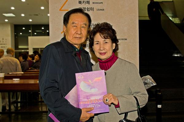 """【션윈 관객 인터뷰】 송길용 회장 """"예술의 경지가 여기까지 도달했구나"""""""