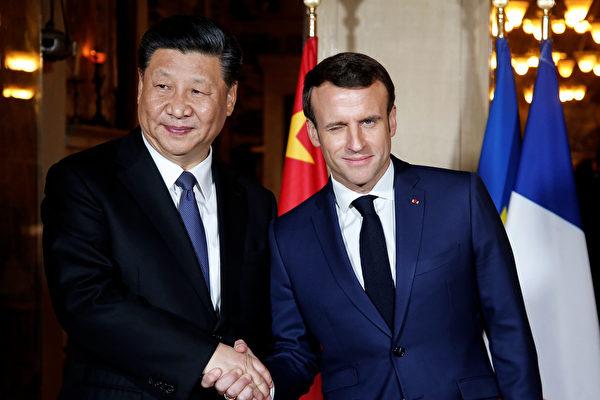 """이탈리아와 중국 당국이 '일대일로' 협력 양해각서(MOU)를 체결하면서, 유럽연합(EU) 내에 비상이 걸렸다. 지난 22일, 에마뉘엘 마크롱(Emmanuel Macron) 프랑스 대통령은 """"EU가 개별 국가의 정책이 아닌 하나의 통일된 대중(對中) 전략을 내놓아야 한다""""고 했다.   Sean Gallup/Getty Images"""
