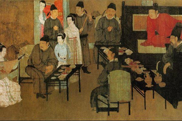 한희재야연도(韓熙載夜宴圖) | 퍼블릭 도메인