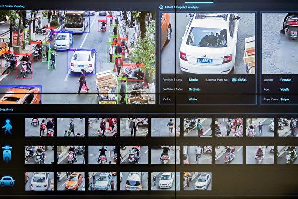 2019년 3월 29일 화웨이 선전 본사에서 촬영된 CCTV 기술전시실 모습.  Billy H.C. Kwok/Getty Images