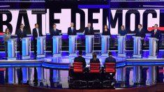 """미국 대선 TV토론, 민주당 후보들 한 목소리 """"건강보험 수혜자에 불법 체류자도 포함"""""""