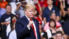 트럼프 대통령, 대선 출정식에서 '급진적 사회주의' 위험성 경고