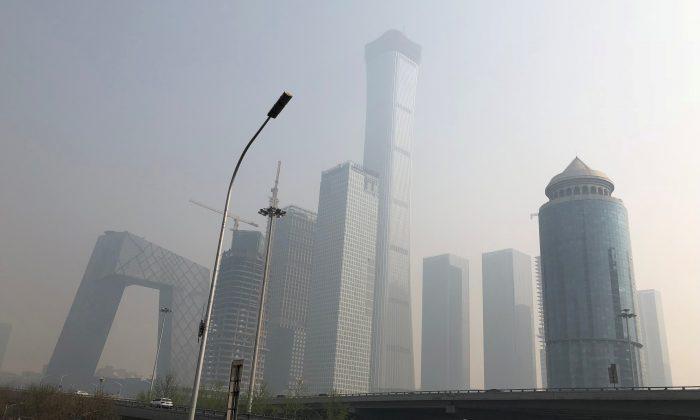 중국 베이징의 중앙 상업지구. 2018.4.1 | Reuters/Jason Lee / File Photo