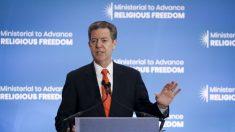 """미국 국제종교자유 대사 """"종교박해는 국제적 위기, 긴급 행동 필요"""""""
