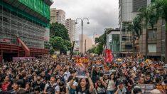 홍콩 시민들, 중국인 관광객에게 아이폰 '에어드롭'으로 시위 바로 알리기