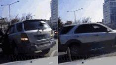 모두가 하나 되어 만들어낸 '후진 역주행 무사고' 레전드 영상