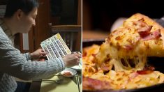 '광고지 속 음식'보며 식사하는 절약의 달인