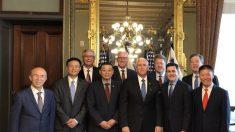 美 마이크 펜스, 중국에서 박해받는 종교단체 대표들과 대처방안 논의