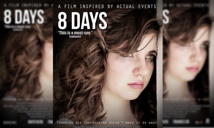 '8일간(8days)'은 미국의 아동 성매매에 관한 참혹한 범죄 사건을 다룬 장편 영화다.   After Eden Pictures