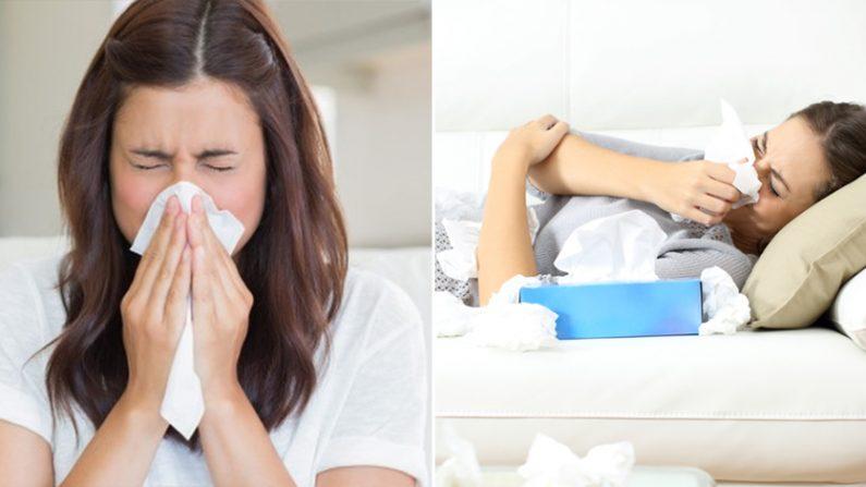 환절기 접어들면서 알레르기 증상을 호소하는 사람들이 늘고 있다. | Shutterstock