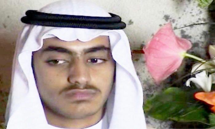 알카에다 지도자였던 오사마 빈 라덴의 아들 한자 빈 라덴(Hamza bin Laden) | Screenshot/Video via CNN