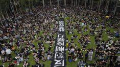 홍콩 시민들, 9주 연속 반정부 행진..도심 전역으로 확산