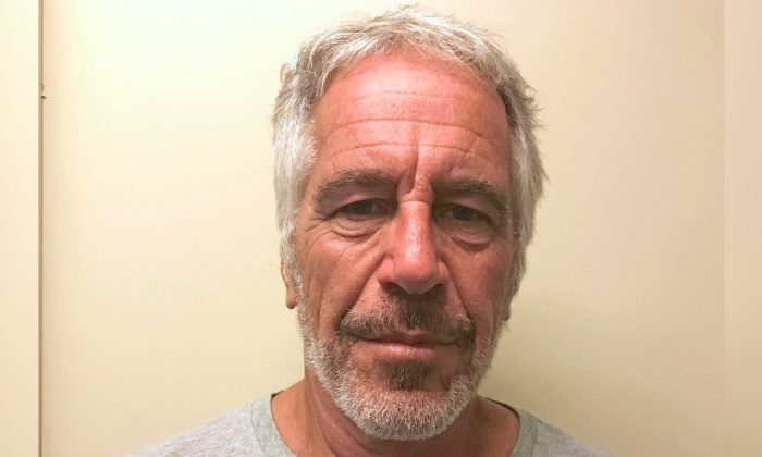 뉴욕 경찰에 성범죄자로 체포된 제프리 엡스타인 2019.7.10 | New York State Division of Criminal Justice Services/Handout via Reuters=Yonhapenws(연합뉴스)