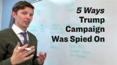 트럼프 대선 캠프가 겪은 '스파이 활동' 5