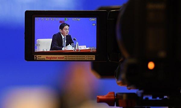 홍콩마카오 판공실의 양광(楊光) 대변인은 3일 베이징기자회견에서 유사시 홍콩에 중국 국내법을 적용할 수 있다고 밝혔다. | GREG BAKER/AFP=연합뉴스