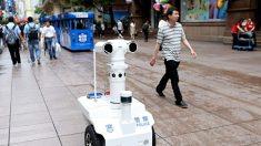 상하이에 '5G 경찰 로봇' 등장…'안면·걸음걸이·음성' 24시간 실시간 감시