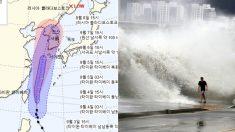 '올해 최악의 태풍' 링링, 이번 주말 한반도에 '거대 물폭탄' 투척한다