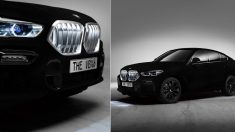 BMW가 작정하고 만든 '세상에서 가장 어두운 자동차' (영상)