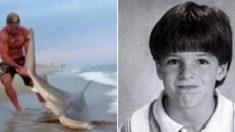 조카 공격한 상어 배 속에서 '조카의 팔' 찾아와 '접합 수술' 도운 삼촌