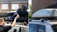 차 루프박스에 숨어 佛에서 英으로 건너온 17세 청소년