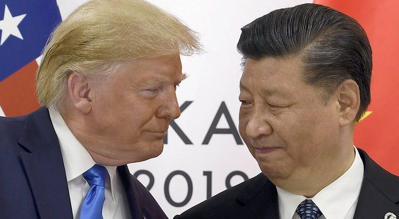 트럼프-시진핑 '팽팽한 기 싸움 | 연합뉴스 자료사진