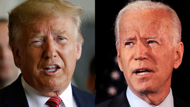 [L] Donald Trump | AP Photo/Evan Vucci, File=Yonhapnews(연합뉴스) [R] Joe Biden | Reuter=Yonhapnews(연합뉴스)