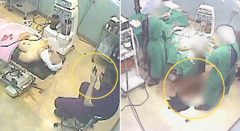 당시 수술실 CCTV 영상 | 유족 제공