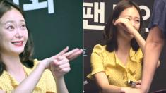 팬사인회에서 청각장애인 팬을 만난 여배우의 반응 (영상)