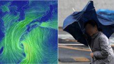 """""""일본 남쪽 해상에서 발생한 '태풍'이 이번 주말 한반도에 폭우 쏟아낸다"""""""