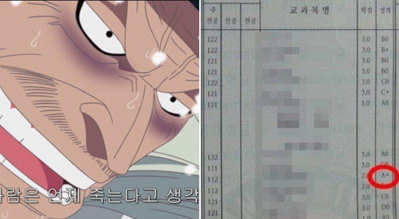[좌] 만화 '원피스' [우] 온라인 커뮤니티