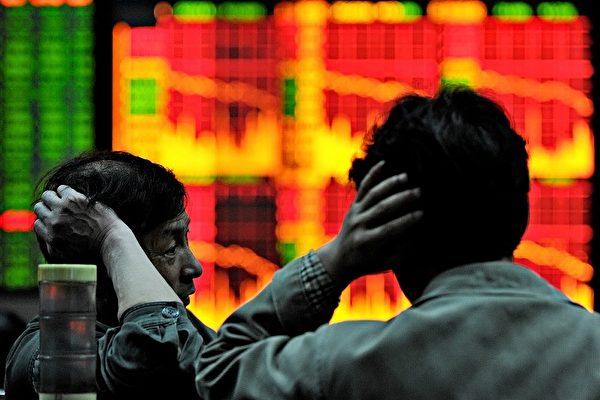 중국 증시가 투자자들을 초조하게 만들고 있다.| AFP/PHILIPPE LOPEZ